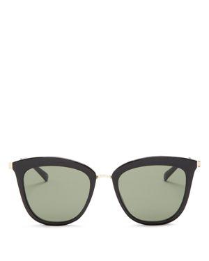 Le Specs Caliente Cat Eye Sunglasses, 53mm