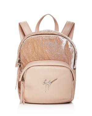 Giuseppe Zanotti Velvet Backpack 1891055