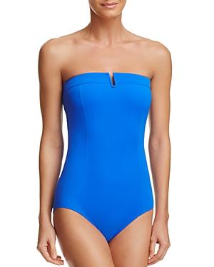 Gottex Bandeau One Piece Swimsuit