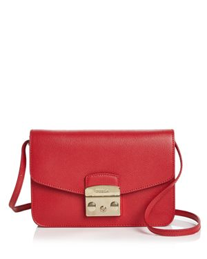 Furla Metropolis Pochette Small Leather Crossbody