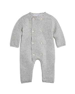 Tartine et Chocolat Unisex Double-Breasted Knit Coverall - Baby