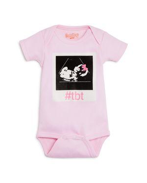 Sara Kety Girls' #Tbt Sonogram Bodysuit - Baby