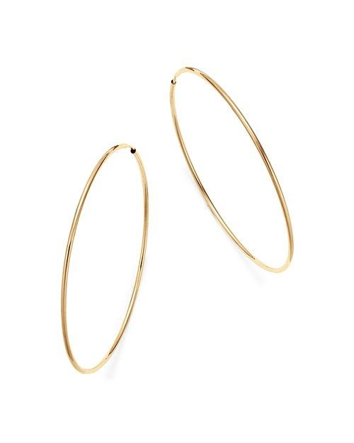Bloomingdale S 14k Yellow Gold Large Endless Hoop Earrings 100 Exclusive