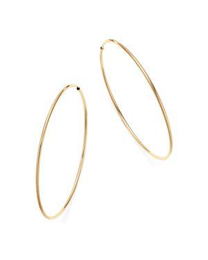 Bloomingdale's 14K Yellow Gold Large Endless Hoop Earrings - 100% Exclusive