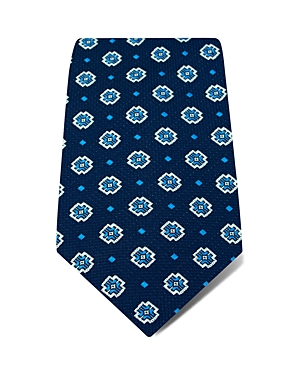 Hilditch & Key Interlocking Chevron Wide Tie