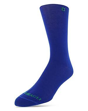 Bruno Magli Solid Mercerized Cotton Blend Dress Socks