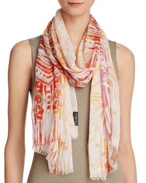 Fraas Brushed Printed Scarf
