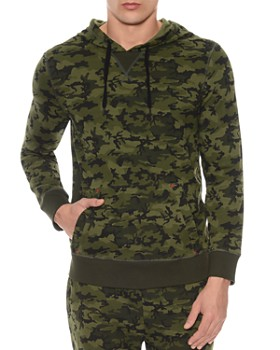 2(X)IST - Camouflage Terry Pullover Hoodie Lounge Sweatshirt