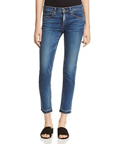 rag & bone/JEAN - The Dre Slim Boyfriend Crop Jeans in Livingston