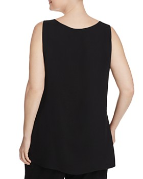 Lafayette 148 New York Plus - Ruthie Silk Top