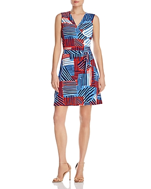 Leota Sleeveless Perfect Wrap Dress
