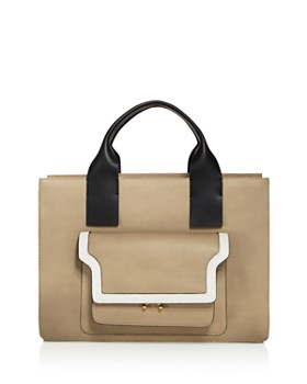 Marni - City Trunk Accordion Tote
