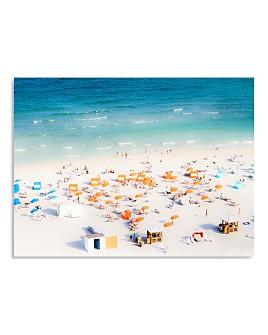 Art Addiction Inc. - Beach Umbrellas Wall Art - 100% Exclusive