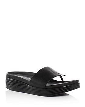 Donald Pliner - Women's Fifi Platform Demi Wedge Thong Sandals