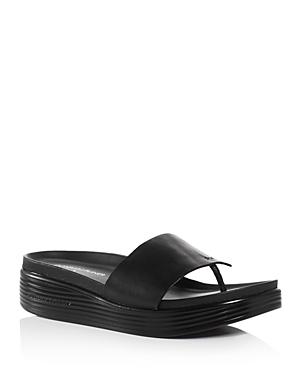 Fifi Platform Demi Wedge Thong Sandals