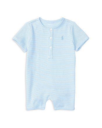 Ralph Lauren - Boys' Striped Shortall - Baby
