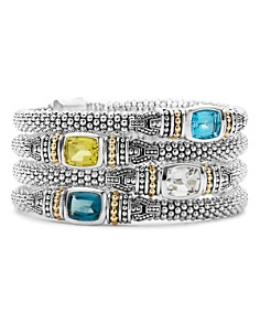 LAGOS 18K Gold and Sterling Silver Caviar Color Bracelet - Bloomingdale's_0