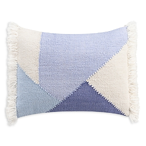cupcakes and cashmere Mosaic Tile Triangle Pieced Decorative Pillow, 14 x 18