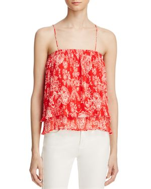 Ella Moss Ria Plisse Camisole Top - 100% Exclusive