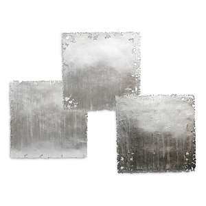 Mitchell Gold Bob Williams Silver Squares Wall Art