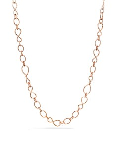 David Yurman - Continuance Medium Chain Necklace in 18K Rose Gold