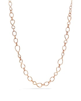 David Yurman - Continuance Medium Chain Necklace in 18K Rose Gold