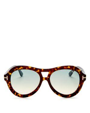 Tom Ford Aviator Sunglasses, 55mm