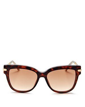 Jimmy Choo Square Sunglasses, 52mm