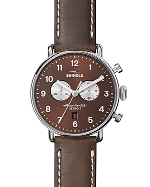 Shinola The Canfield Chronograph Watch, 43mm