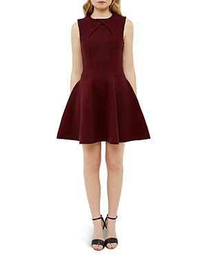 Ted Baker Ribbed Party Dress