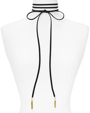 Baublebar Lariat Choker Necklace, 13