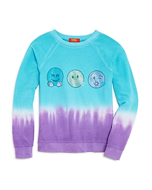 Butter Girls' Dip Dye Emoji Top - Sizes S-xl