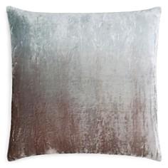"Kevin O'Brien Studio Dip-Dye Silk Velvet Decorative Pillow, 20"" x 20"" - Bloomingdale's_0"