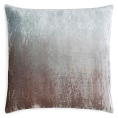 "Kevin O'Brien Studio - Dip-Dye Silk Velvet Decorative Pillow, 20"" x 20"""