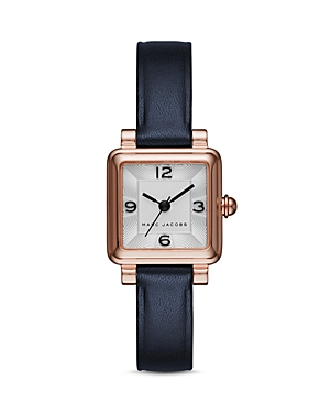 marc jacobs female marc jacobs vic leather watch 20mm x 20mm