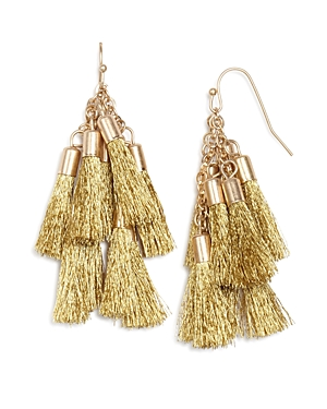 Aqua Katie Multi Tassel Drop Earrings - 100% Exclusive