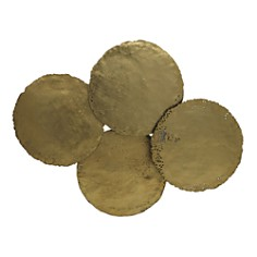 Mitchell Gold Bob Williams Gold Circles Wall Art - Bloomingdale's_0