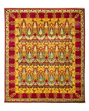 Solo Rugs Arts and Crafts Area Rug, 8'1 x 9'6