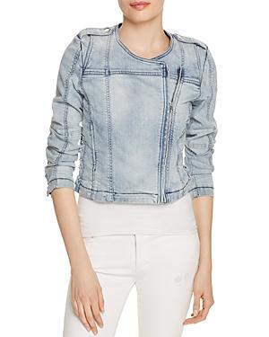 Generation Love Lace-Up Denim Moto Jacket