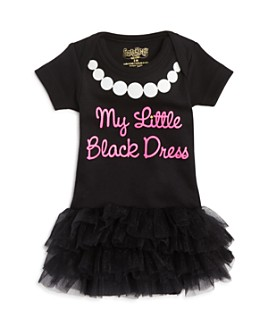 Sara Kety - Girls' My Little Black Dress Tutu Bodysuit - Baby