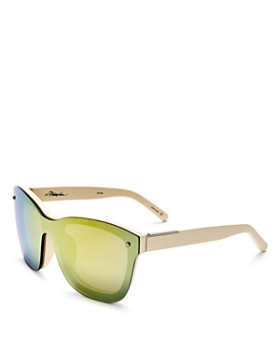 3.1 Phillip Lim - Women's Mirrored Square Sunglasses, 56mm