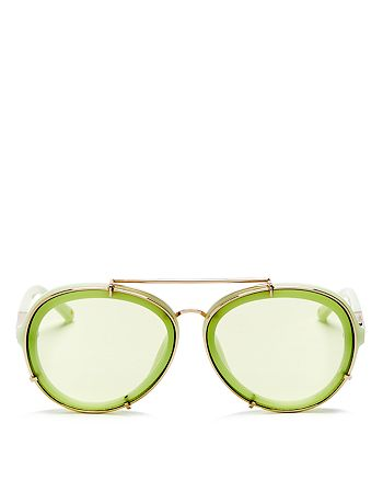 3.1 Phillip Lim - Women's Aviator Sunglasses, 60mm
