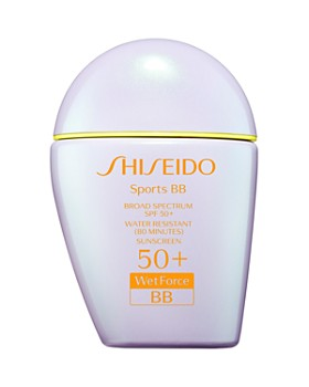 Shiseido - Sports BB Broad Spectrum SPF 50+ WetForce Sunscreen
