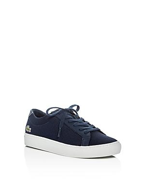 Lacoste Boys L1212 Pique Knit Lace Up Sneakers  Little Kid Big Kid