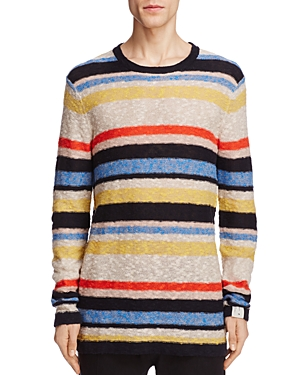Scotch & Soda Stripe Crewneck Sweater