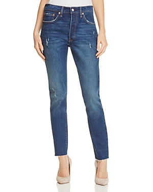 Levi's 501 High Rise Skinny Jeans in Song Forever