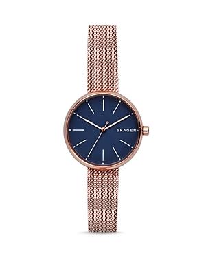 Skagen Signature Mesh Bracelet Watch, 30mm