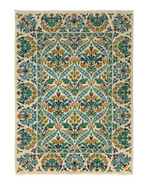 Suzani Collection Oriental Rug, 5'4 x 7'3