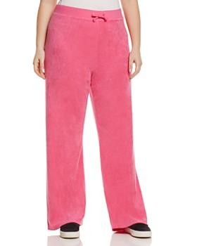 Juicy Couture Black Label Plus - Plus Mar Vista Microterry Track Pants - 100% Exclusive
