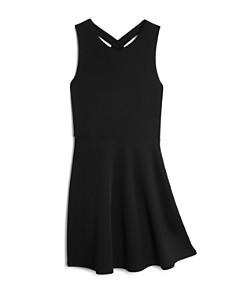 AQUA Girls' Cross Front Dress, Big Kid - 100% Exclusive - Bloomingdale's_0